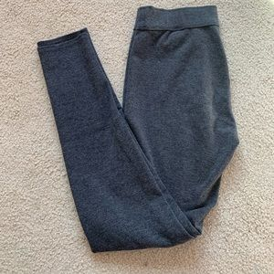 Grey Abercrombie & Fitch Leggings